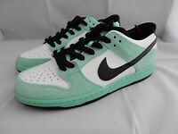 NIKE DUNK LOW PRO IW MINT WHITE BLACK UK 9.5 US 10.5 EU 44.5 NEW  MEN'S TRAINERS