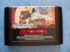 EXILE SEGA GENESIS 1991 ACTUAL PICTURES TESTED ACCEPTABLE