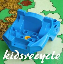 Lego DUPLO Toolo ACTION WHEELERS Part <> COCKPIT / CABIN BASE (31196) 4x6 BLUE