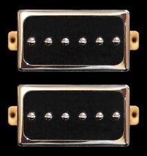 Guitar Parts GUITARHEADS CONVERSION P90 - Fits HB - Bridge Neck SET 2 - CHROME