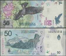 Argentina P363 B418a 50 Pesos 2018 UNC Series A @ Ebanknoteshop