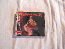 "Megadeth ""The world needs a Hero"" 2001 cd  Japan W/Obi  VICP-61348"