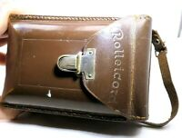 Rolleicord I Ia Leather Camera Case for ROLLEI TLR  vintage genuine