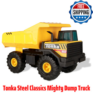 Tonka Steel Classics Mighty Dump Truck. Kids Toys Vehicles