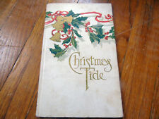 """""""Christmastide""""  Charming Victorian Christmas Poems color illustrations"""