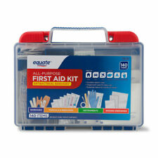 NEW EQUATE ALL-PURPOSE FIRST AID KIT, 140 ITEMS