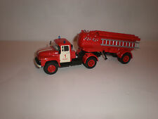 1/43 Russian fire truck ZIL-130 with semi trailer Handmade by Saratov laboratory