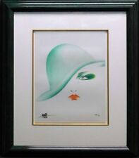 Hisashi Otsuka The Eyes of Otsuka- Green Hat Hand Signed Make an Offer