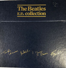 """THE BEATLES EP COLLECTION BEP-14 BLUE BOX 15 X 7""""45RPM 1981 UK Edition+Near Mint"""