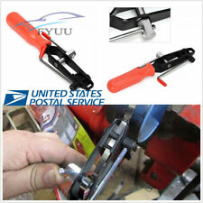 Handhold Car SUV Joint Boot Clamp Pliers Banding Crimper Tool Black+Red