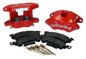 Wilwood 140-11291-R D52 Front Caliper Kit - Red