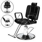 Hydraulic Reclining Barber Chair Shampoo Salon Hair Stylist Stations Beauty Spa