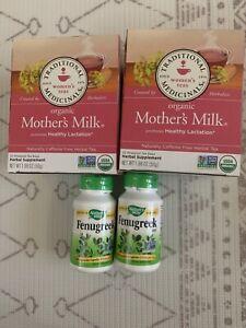 Fenugreek Supplement for breastfeeding mothers milk herbal tea