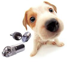 Useful Anti-Lost Pet Dog Cat ID Address Name Label Tag Tube Collar Accessories