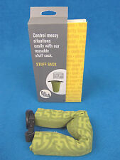 NEW Go Gaga STUFF SACK Eco-Friendly BABY Bag for Diapers Stroller OLIVE TALISMAN