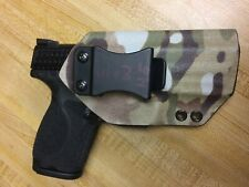 """Kydex Iwb Rh holster for Smith and Wesson M&P 4"""" Compact"""