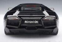 1/18 Autoart Lamborghini Reventon Negro Negro - Rareza