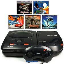# Sega Mega-CD 2 Console + Mega Drive 2 + 5 GIOCHI + PAD + elettricità & televisione via cavo #