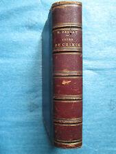 DEBRAY : COURS ELEMENTAIRE DE CHIMIE, 1865.