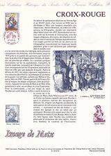 Document Philatélique Timbre 1er Jour : 27/11/ 1993 - Croix Rouge Images Metz
