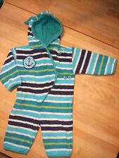 TOP*FROTTEE Bade Overall*JAKO-O 80 86*Zipfel Mantel Anzug Einteiler*Baby Mädchen