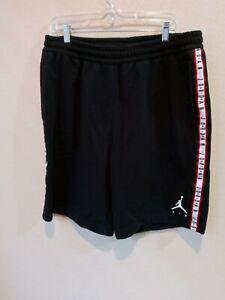 Air Jordan Jumpman Fleece  Sweat Shorts Black Size Men's XL