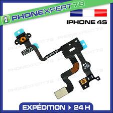 NAPPE SONDE CAPTEUR DE PROXIMITE + BOUTON POWER ON/OFF POUR IPHONE 4S