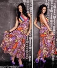 Bodenlange Damenkleider im Boho -/Hippie-Stil in Größe 38