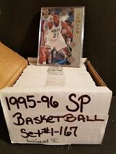1995-96 Sp Basketball Complete Set #1-167 - Kevin Garnett Rookie