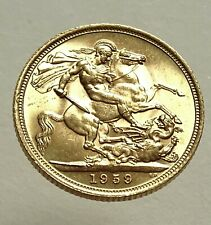 More details for 1959 queen elizabeth ii full sovereign low mintage