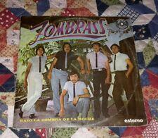 """ZOMBRASS """"BAJO LA SOMBRA DE LA NOCHE"""" TROPICAL CUMBIAS ROMANTICAS RARE LP VG+"""