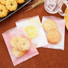 Plastic Package Bag Rose Cake Biscuit Candy  Bags Party Wedding Gift JD
