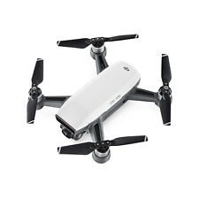 DJI Spark Drone - Alpine White with propeller guards