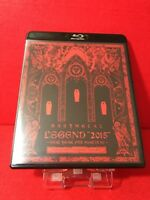 USED BABYMETAL THE ONE LEGEND 2015 Limited Blu-ray new year fox festival F/S