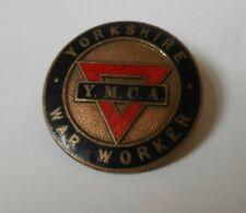 More details for yorkshire ymca   war worker enamel badge