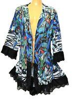 TS cardy TAKING SHAPE plus sz M / 18 - 20 Madagascar Cardi jacket NWT rp$150!