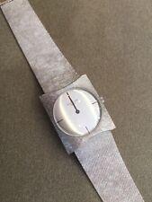 Vintage Patek Philippe Geneve Rectangular Mechanical Silver Dial Watch - HM 1531