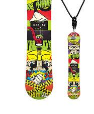 Miniboard ROME MOD 162 11/12 CLASSIC Snowboard als Halskette - B19