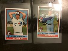 1976 TOPPS EXPOS 2 CARD LOT * 2 CARD LOT* KRB-10406