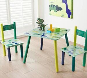 Dinosaur Kids Table & Chairs