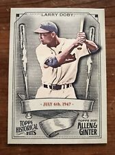 New listing Larry Doby 2021 Allen & Ginter Historical Hits insert card HH-42 NEW MLB HOF