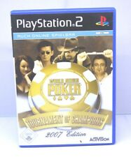 World Series Of Poker: Tournament Of Champions (Sony PlayStation 2, 2007) PS2
