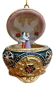 The San Francisco Music Box Company Anastasia Trinket Box Ornament