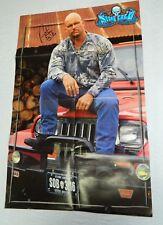 WWE Stone Cold Steve Austin Signed Autographed Large Poster Wrestling