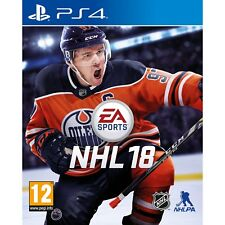 EA Sports NHL 18 Ice Hockey PlayStation 4 Ps4 UK