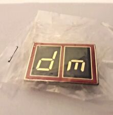 "DEPECHE MODE ""The Singles Tour 86>98"" (Official Metal Tour Badge) Still sealed !"