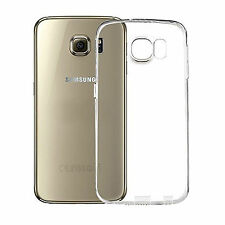 Funda Carcasa Transparente Ultrafina Tpu Gel Para Samsung Galaxy S6 Sm- G920f