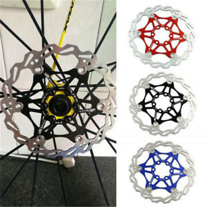 MTB Mountain Bike Bicycle Brake Disc Floating Rotors 160/180/203mm w/ 6 Bolts cl