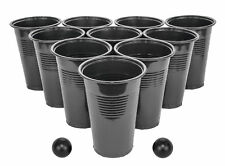 24 Cup 4 Ball Blackout Beer Pong Set GIftable Box Drinking Party Game Novelty