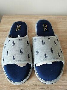 Ralph Lauren Mens Antero Slippers in size 8 - £33